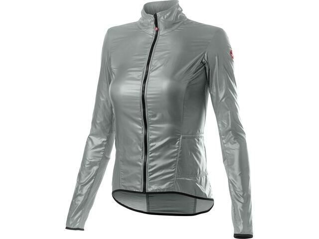 Castelli Aria Shell Jacket Women silver/gray